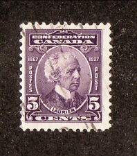 Canada--#144 Used--1927 Sir Wilfrid Laurier