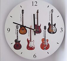Wooden Guitars Clocks For Sale Ebay