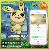 Pokémon GO ✨Shiny Spinda✨ GUARANTEED CAPTURE - Super Rare! Form #04 (Nov2020)
