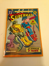 AVR24 ---- SAGEDITION   SUPERMAN  coll. présence de l'avenir LE VENGEUR D'ACIER