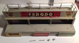 1960s Corgi Toys CORGI KITS 603 1/43 SILVERSTONE PITS started/incomplete/damaged