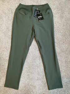 Womens Size Small Puma PWRSHAPE Golf Pants 595859-08 Thyme Green