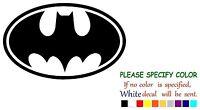 "Batman Emblem Decal Sticker JDM Funny Vinyl Car Truck Window Bumper Laptop 7"""