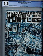 Teenage Mutant Ninja Turtles #3 CGC 9.4 NM  Mirage Comics 1985 1st Print TMNT K6