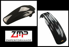 NEW HONDA 85 - 89 CR 250 MAIER BLACK PLASTIC FRONT AND REAR MOTORCYCLE FENDER