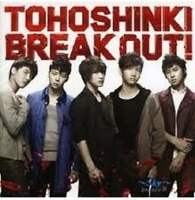 KPOP TVXQ  DBSK Tohoshinki BREAK OUT! Bigeast Edition w/ photo card