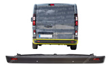 Renault Trafic Rear Center Bumper With PDC Sensor Holes 2014 Onwards