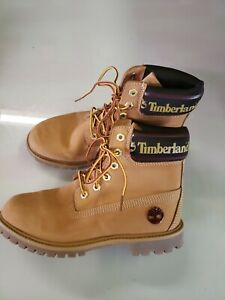 Timberland Women's 6 Inch Premium With Sock Collar Boots (A25MK) Size 7.5 T186