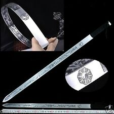 Trigrams Tai-chi soft sword Hand Forged Spring steel Springsteels blade #0021