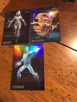 Dave Busters Marvel Arcade Contest Of Champions MODOK ICEMAN GHOST 3-Cards