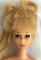 "Vintage Mattel 1967 Japan Blonde Barbie Doll 11""/ Eyelashes"