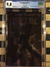 Dark Nights: Metal 3 CGC 9.8 Oak City Mattina Convention Foil Variant