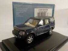 Land Rover Discovery 3 - Blue Metallic  Oxford Diecast 1/76 New Dublo, Railway S