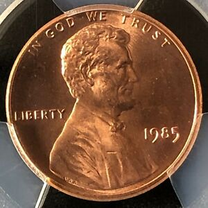 1985 1C RD Lincoln Memorial One Cent  PCGS MS68RD          40193060