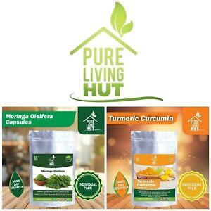 Turmeric Curcumin & Moringa Oleifera / Healthy All Natural Supplements