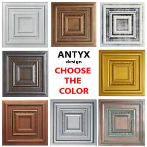 "Ceiling Tiles, Glue Up, Foam - Faux Tin, Best Seller !!!  ANTYX 20"" x 20"""