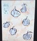 "Donald Baechler ""Fruits III"" Modern American Art 35mm Glass Slide"