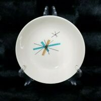 "VTG Mid Century Modern 5.25"" Atomic Star Burst Salem North Star Berry Bowl"