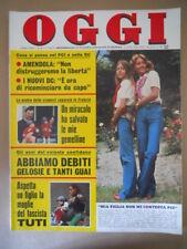 OGGI n°28 1975 Dori Ghezzi Gabriella Farinon Mina Susan Ford   [G801]