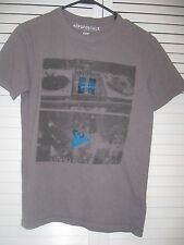 "YOUTH ""AEROPOSTALE"" SHORT SLEEVE GRAY T-SHIRT, SIZE XS/TP"