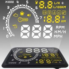 "5.5"" ASH-4C Car HUD Head Up Display OBD II Projector Digital Light Speed Warning"