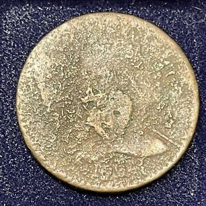 1794 Large Cent Liberty Cap Flowing Hair One Cent Many Details #34668