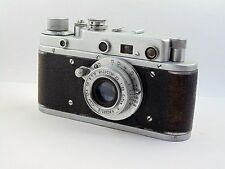 Camera  ZORKI S (C) Lens INDUSTAR 22 P red Made in USSR