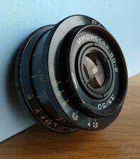 INDUSTAR 50-2 3.5/50 M42 USSR Lens ZENIT CANON Nikon