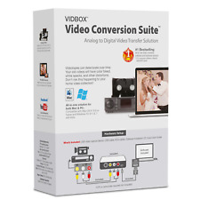 VIDBOX® Video Conversion Suite (PC & Mac) AU STOCK