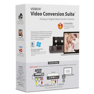 VIDBOX® Video Conversion Suite (PC & Mac) AU STOCK