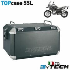 TOP CASE ALLUMINIO 55 L CON PORTAPACCHI BMW 1200 R GS ADVENTURE (K255) '05/'13