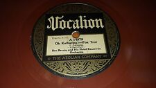 BAR HARBOR SOCIETY ORCHESTRA Arcady/Are You Lonely 78 Vocalion 14715 RED Pre-War
