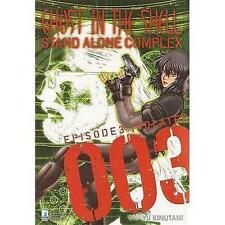 GHOST IN THE SHELL STAND ALONE COMPLEX - 003 - MANGA STAR COMICS - NUOVO