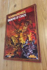 Warhammer Daemons of Chaos Army Book