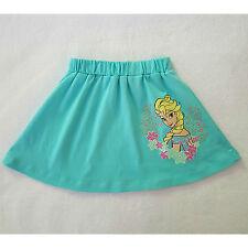 DISNEY jupe turquoise fille LA REINE DES NEIGES Elsa 3-4 ans (98-104 cm) neuve