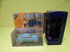 TINTIN HERGE 030 DODGE CORONET 1949 - OBJECTIF LUNE 1953 - MINT IN BOX