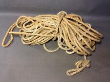 Ancienne corde de sapeur pompiers ou marin déco marine vintage bateau