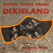 "ERIC KRANS' DIXIELAND PIPERS - Dutch Tunes Doing Dixieland (1958 VINYL EP 7"")"