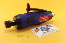 1/4 Air Die Grinder 1/8 Cut Off Tool Cutting Polishing Drill Hog Usa Warranty