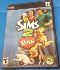 Sims 2: Pets (PC, 2006)(INCLUDES BOX, MANUAL AND DISC)