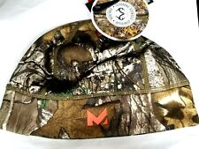 Mission Radiant Active Heating Beanie Fleece Skull Cap Real Tree Camo One Size