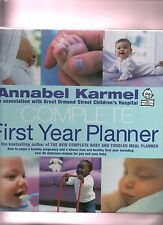 Annabel Karmel in association with Great Ormond St, Complete First Year Planner