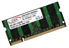 2gb RAM 800mhz ddr2 asus asmobile x61 Notebook x61sl de memoria SO-DIMM