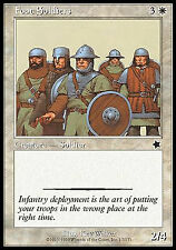 Foot Soldiers X4 EX/NM Starter 1999 MTG Magic Cards White Common