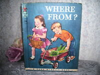 Elf Book Where From by Eunice Young Smith 1981