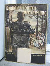 Deutsche Beamten - Versicherung KalenderPappe