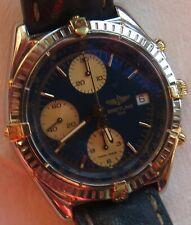 Breitling Chronomat Chronograph mens wristwatch steel & gold case Ref. B13048
