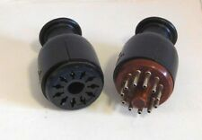 NEW 11 PIN CONNECTOR SET FOR HAMMOND ORGAN SPEAKERS - MADE IN USA - FREE DEL.