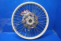 """95-97 Ktm 125 250 360 Front Wheel Rim Assembly with Hub Spokes Rotor OEM 21"""""""