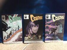 Colossi 1-3 Comic Book Run Vault Comics 1st Prints